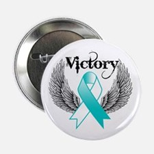 "Victory Cervical Cancer 2.25"" Button (10 pack)"