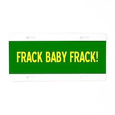Funny Energy Aluminum License Plate