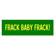 frack-bumper Bumper Car Sticker