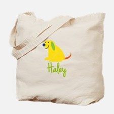 Haley Loves Puppies Tote Bag