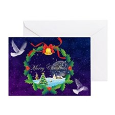 Peace Doves (Blank) Greeting Card