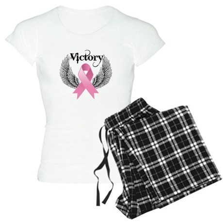 Victory Wings Breast Cancer Women's Light Pajamas