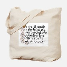 We Are All Pencils Tote Bag