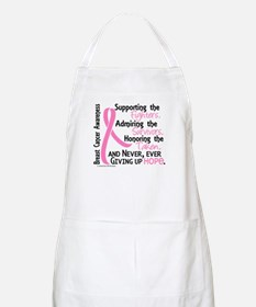 SupportAdmireHonor10 Breast Cancer Apron