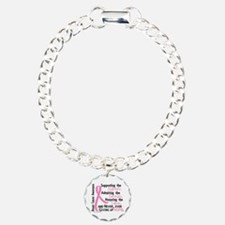 SupportAdmireHonor10 Breast Cancer Bracelet