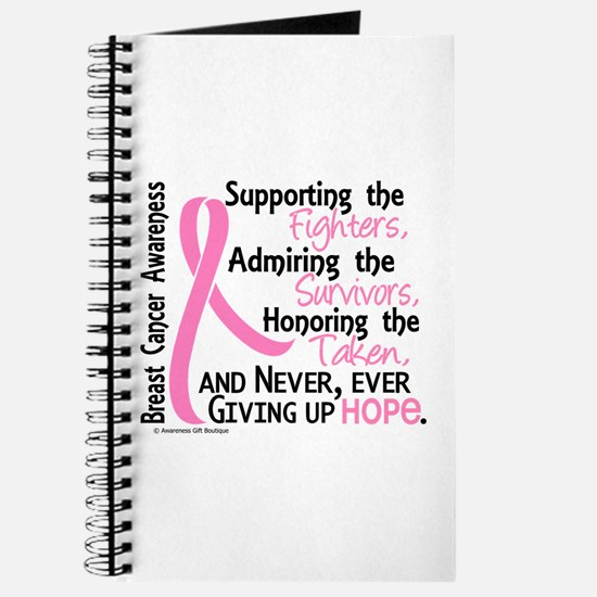 SupportAdmireHonor10 Breast Cancer Journal