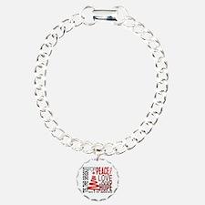 Christmas 1 AIDS Bracelet