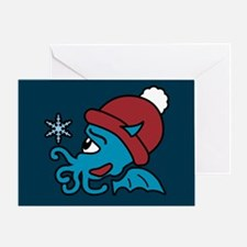 Merry Cthulhumas Greeting Card