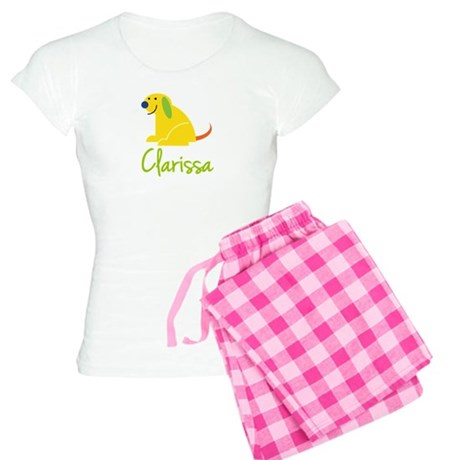 Clarissa Loves Puppies Women's Light Pajamas