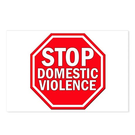 STOP Domestic Violence Postcards (Package of 8)