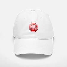 STOP Domestic Violence Baseball Baseball Cap