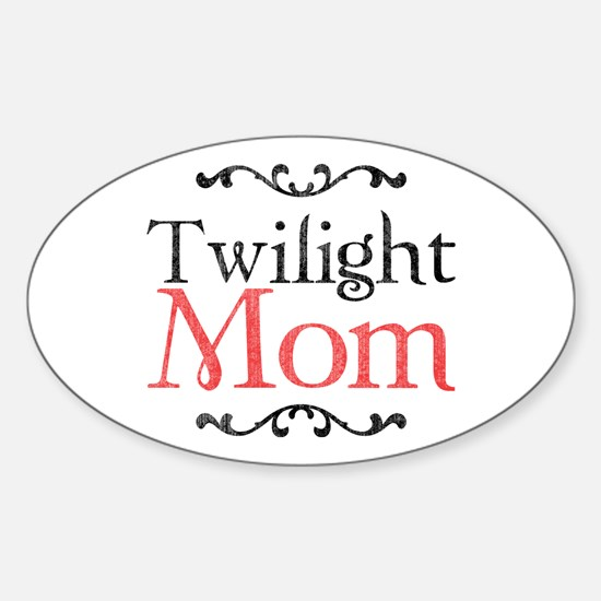 Twilight Mom 2 Sticker (Oval)
