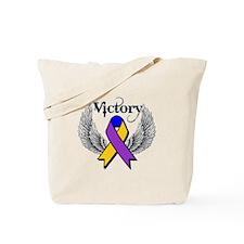 Victory Bladder Cancer Tote Bag