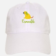 Esmeralda Loves Puppies Baseball Baseball Cap