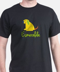 Esmeralda Loves Puppies T-Shirt
