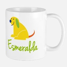 Esmeralda Loves Puppies Small Small Mug