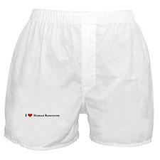 I Love Human Resources Boxer Shorts