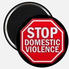 "STOP Domestic Violence 2.25"" Magnet (100 pack)"