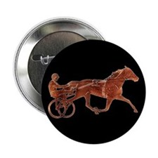 """Brown Pacer Silhouette 2.25"""" Button (10 pack)"""