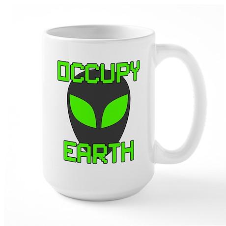 Occupy Earth Large Mug