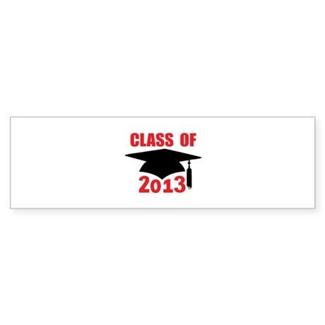 Class of 2013 Sticker (Bumper 10 pk)
