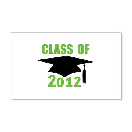 Class of 2012 22x14 Wall Peel