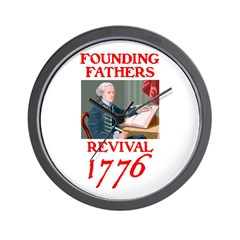 FOUNDING FATHERS REVIVAL™ Wall Clock