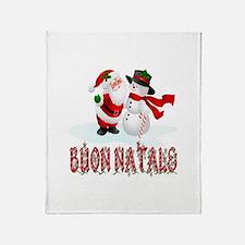 Buon natale Throw Blanket