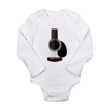 acoustic guitar Long Sleeve Infant Bodysuit