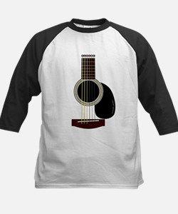 acoustic guitar Kids Baseball Jersey