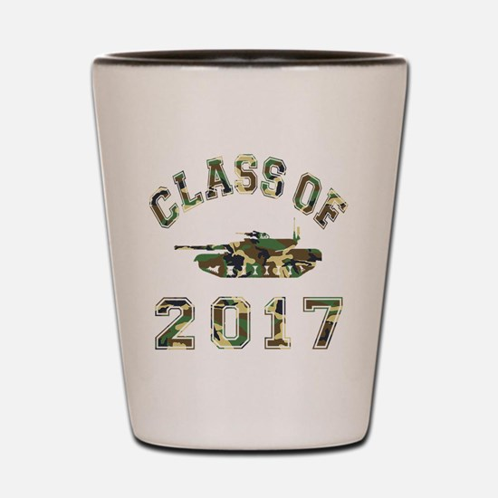 Class Of 2017 Military School Shot Glass