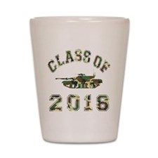 Class Of 2018 Military School Shot Glass