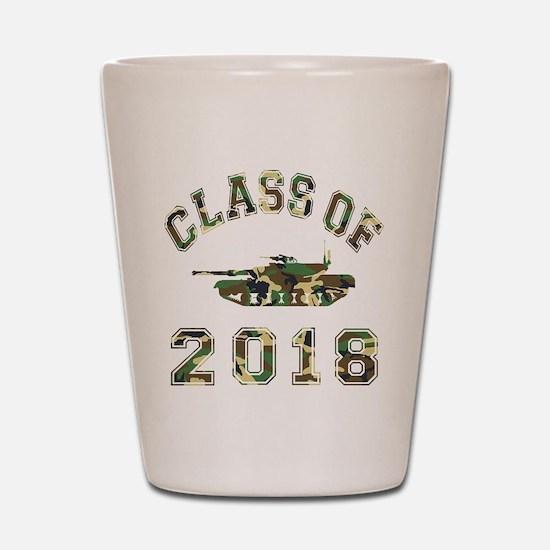 Class Of 2018 Military School Shot Glass
