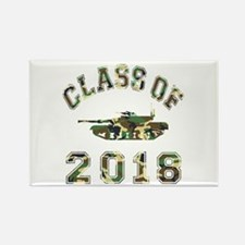 Class Of 2018 Military School Rectangle Magnet
