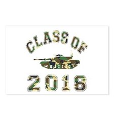 Class Of 2018 Military School Postcards (Package o