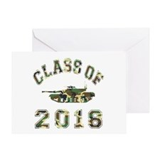 Class Of 2018 Military School Greeting Card