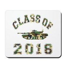 Class Of 2018 Military School Mousepad