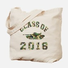 Class Of 2018 Military School Tote Bag