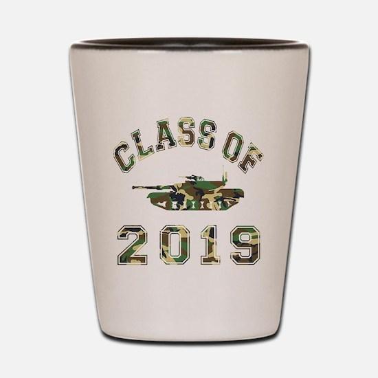 Class Of 2019 Military School Shot Glass