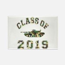 Class Of 2019 Military School Rectangle Magnet