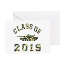 Class Of 2019 Military School Greeting Card