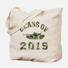 Class Of 2019 Military School Tote Bag