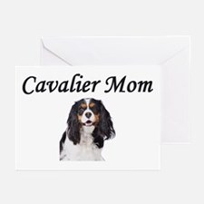 Cavalier Mom-Light Colors Greeting Cards (Pk of 10
