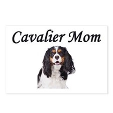 Cavalier Mom-Light Colors Postcards (Package of 8)