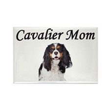 Cavalier Mom-Light Colors Rectangle Magnet