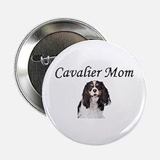 "Cavalier Mom-Light Colors 2.25"" Button"