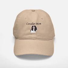 Cavalier Mom-Light Colors Baseball Baseball Cap