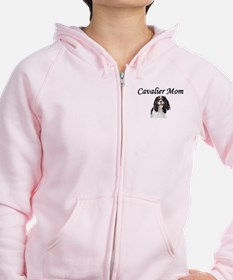 Cavalier Mom-Light Colors Zip Hoody