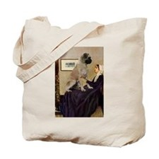 Mom's Bull Mastiff Tote Bag