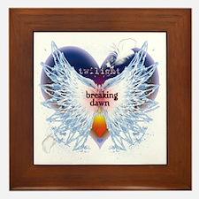 Breaking Dawn Angel Wings by Twibaby Framed Tile